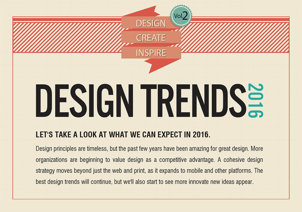 Idee grafiche per il 2016